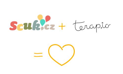 Scuk plus Terapio rovná se velká světová láska.